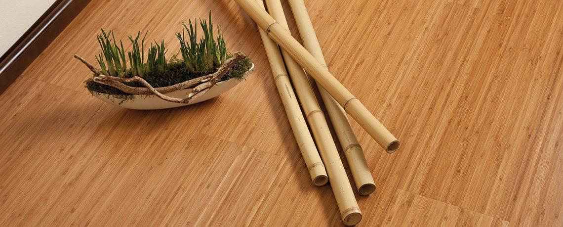 suelos interior de bambú